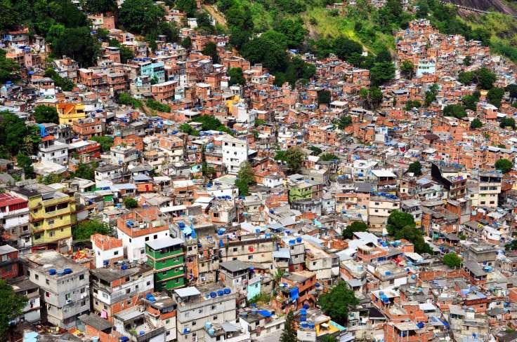Rocinha is a favela in Rio